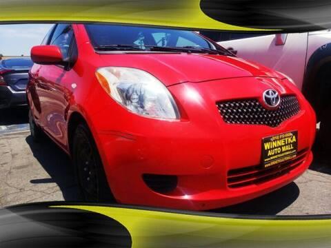 2008 Toyota Yaris for sale at Winnetka Auto Mall in Winnetka CA
