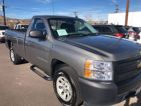 2008 Chevrolet Silverado 1500 for sale at BERKENKOTTER MOTORS in Brighton CO