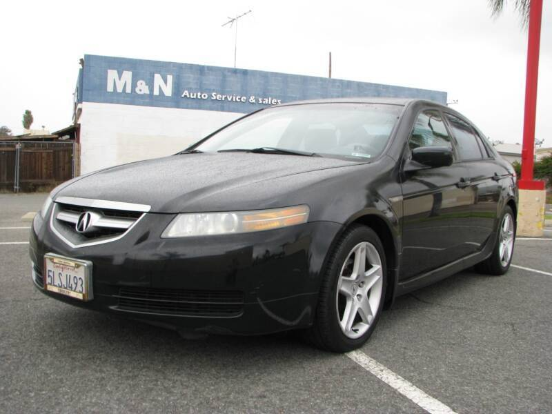 2006 Acura TL for sale at M&N Auto Service & Sales in El Cajon CA