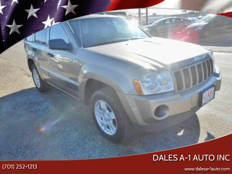 2006 Jeep Grand Cherokee for sale at Dales A-1 Auto Inc in Jamestown ND