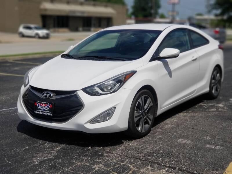 2014 Hyundai Elantra Coupe for sale at Vision Motorsports in Tulsa OK