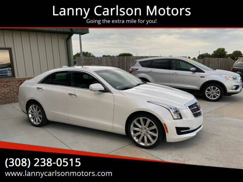 2017 Cadillac ATS for sale at Lanny Carlson Motors in Kearney NE
