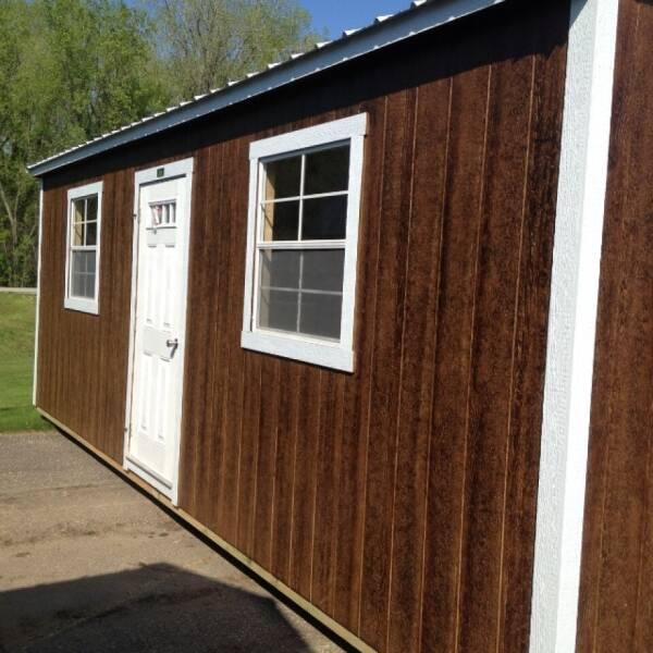 2021 Premier 12x24 garage for sale at Triple R Sales in Lake City MN