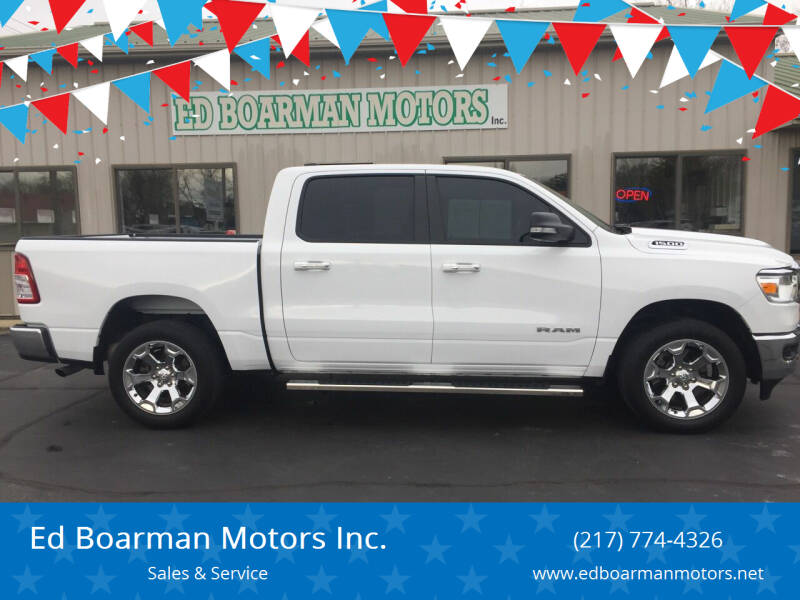 2019 RAM Ram Pickup 1500 for sale at Ed Boarman Motors Inc. in Shelbyville IL