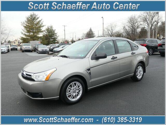 2008 Ford Focus for sale at Scott Schaeffer Auto Center in Birdsboro PA