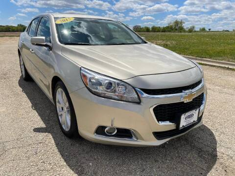 2015 Chevrolet Malibu for sale at Alan Browne Chevy in Genoa IL