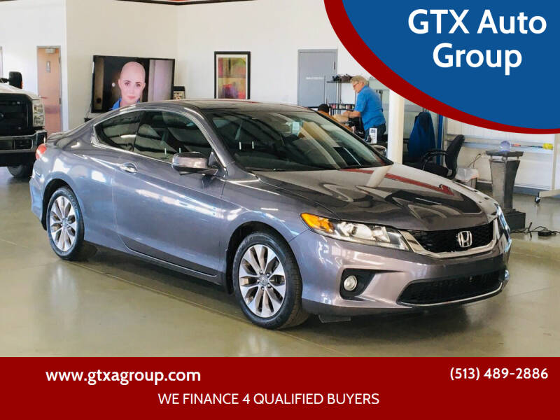2014 Honda Accord for sale at GTX Auto Group in West Chester OH