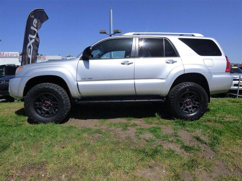 2007 Toyota 4Runner for sale at National Motors in San Diego CA