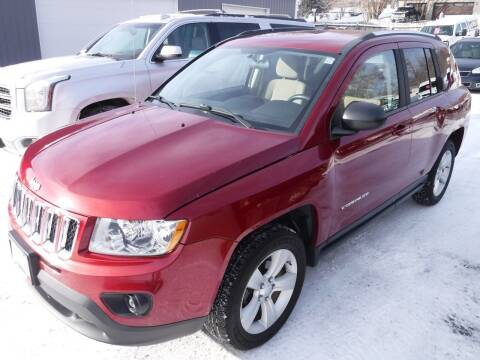 2013 Jeep Compass for sale at J & K Auto - J and K in Saint Bonifacius MN