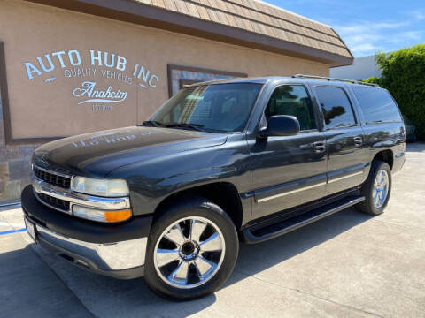 2003 Chevrolet Suburban for sale at Auto Hub, Inc. in Anaheim CA
