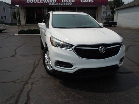 2018 Buick Enclave for sale at Boulevard Used Cars in Grand Haven MI
