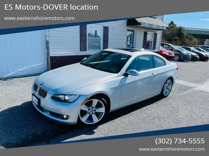 2008 BMW 3 Series for sale at ES Motors-DAGSBORO location - Dover in Dover DE