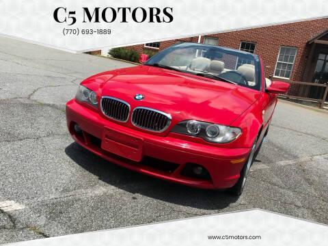 2006 BMW 3 Series for sale at C5 Motors in Marietta GA