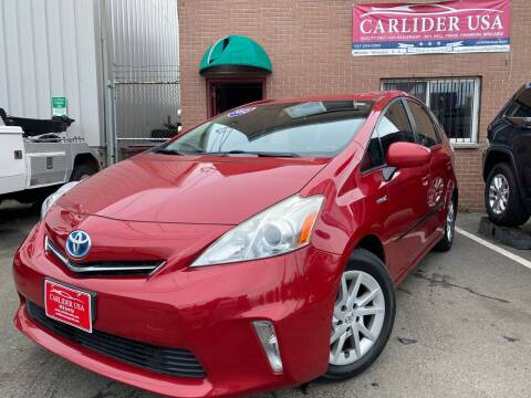 2012 Toyota Prius v for sale at Carlider USA in Everett MA