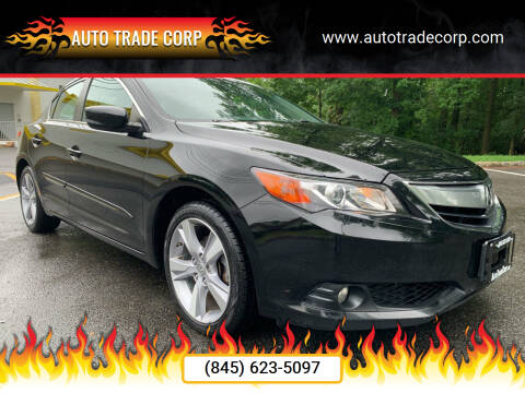 2013 Acura ILX for sale at AUTO TRADE CORP in Nanuet NY