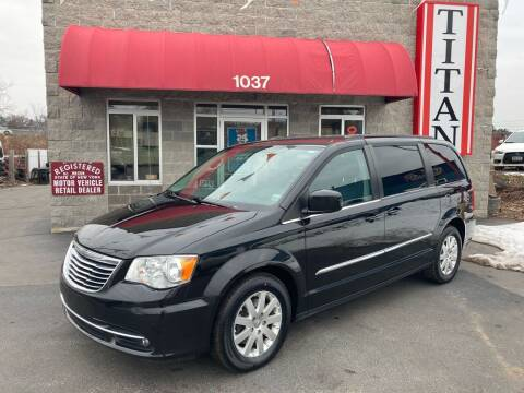 2015 Chrysler Town and Country for sale at Titan Auto Sales LLC in Albany NY
