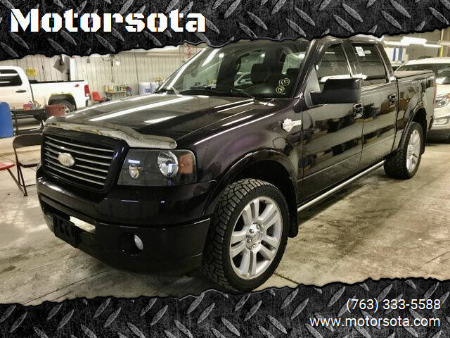 2007 Ford F-150 for sale at Motorsota in Becker MN