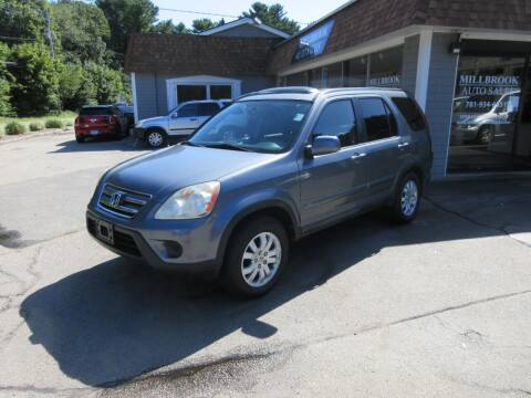 2006 Honda CR-V for sale at Millbrook Auto Sales in Duxbury MA