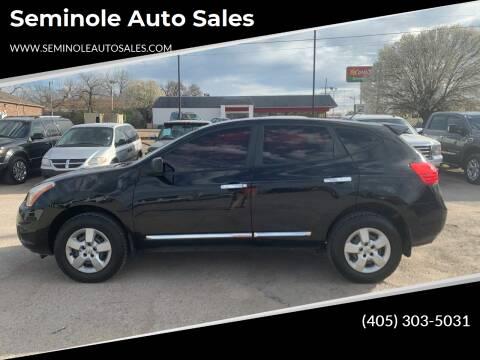 2013 Nissan Rogue for sale at Seminole Auto Sales in Seminole OK