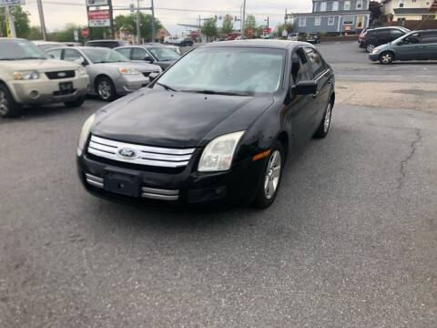 2007 Ford Fusion for sale at 25TH STREET AUTO SALES in Easton PA