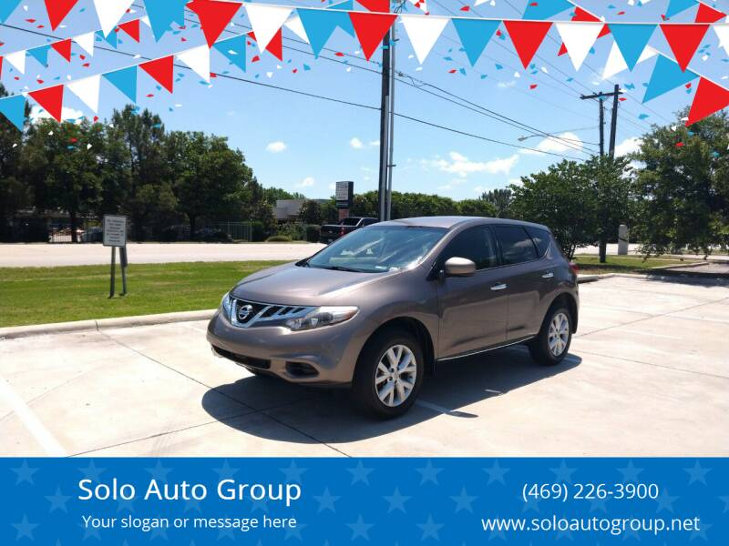 2014 Nissan Murano for sale at Solo Auto Group in Mckinney TX