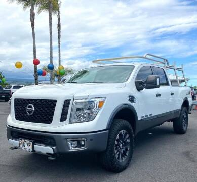 2017 Nissan Titan XD for sale at PONO'S USED CARS in Hilo HI