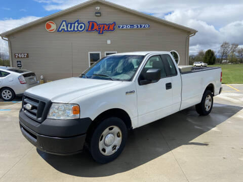 2008 Ford F-150 for sale at The Auto Depot in Mount Morris MI