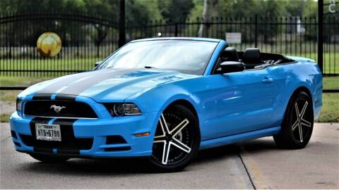 2013 Ford Mustang for sale at Texas Auto Corporation in Houston TX