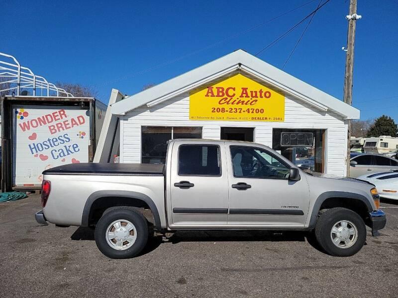 2005 Chevrolet Colorado for sale at ABC AUTO CLINIC in American Falls ID