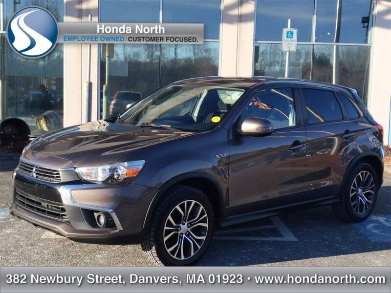 2016 Mitsubishi Outlander Sport for sale at 1 North Preowned in Danvers MA
