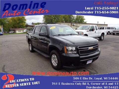 2011 Chevrolet Avalanche for sale at Domine Auto Center in Loyal WI