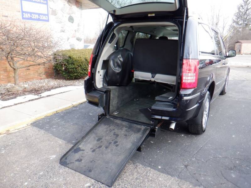 2010 Chrysler Town and Country for sale at Mobility Motors LLC - A Wheelchair Van in Battle Creek MI