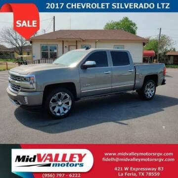 2017 Chevrolet Silverado 1500 for sale at Mid Valley Motors in La Feria TX
