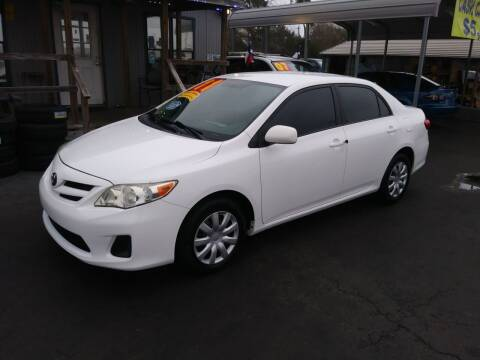2011 Toyota Corolla for sale at Texas 1 Auto Finance in Kemah TX