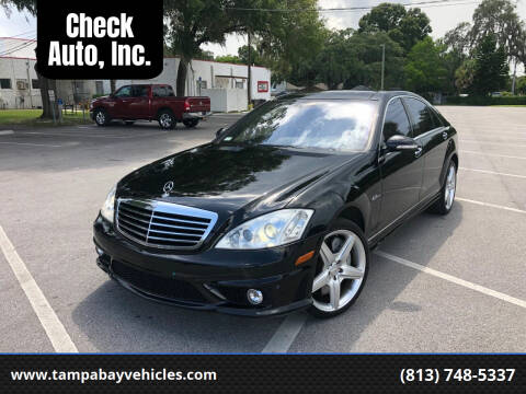 2008 Mercedes-Benz S-Class for sale at CHECK AUTO, INC. in Tampa FL
