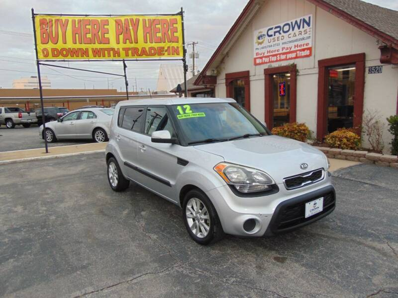 2012 Kia Soul for sale at Crown Used Cars in Oklahoma City OK