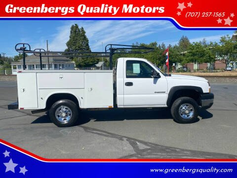 2007 Chevrolet Silverado 2500HD Classic for sale at Greenbergs Quality Motors in Napa CA