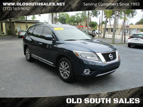 2015 Nissan Pathfinder for sale at OLD SOUTH SALES in Vero Beach FL