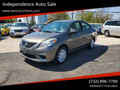 2012 Nissan Versa for sale at Independence Auto Sale in Bordentown NJ