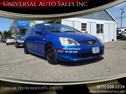 2005 Honda Civic for sale at Universal Auto Sales Inc in Salem OR