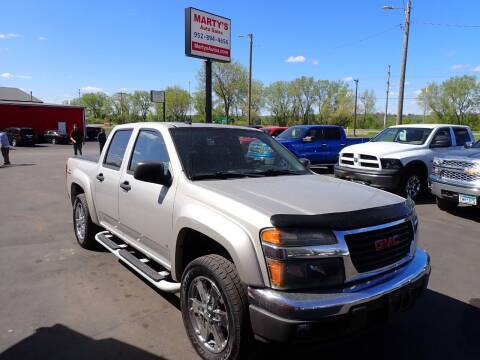 2006 GMC Canyon for sale at Marty's Auto Sales in Savage MN