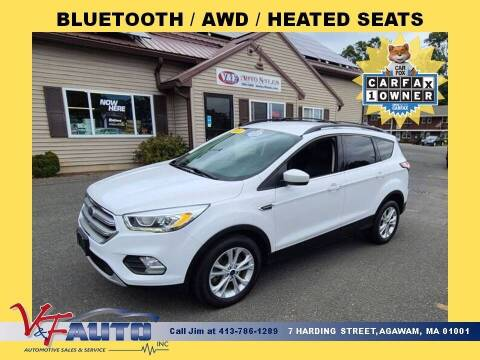 2017 Ford Escape for sale at V & F Auto Sales in Agawam MA