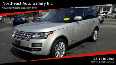 2014 Land Rover Range Rover for sale at Northeast Auto Gallery Inc. in Wakefield MA