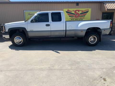 2007 Chevrolet Silverado 3500 CC Classic for sale at BIG 'S' AUTO & TRACTOR SALES in Blanchard OK