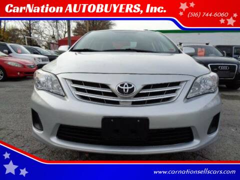 2013 Toyota Corolla for sale at CarNation AUTOBUYERS, Inc. in Rockville Centre NY