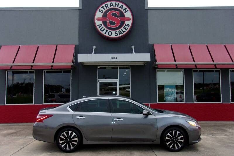 2018 Nissan Altima for sale at Strahan Auto Sales Petal in Petal MS