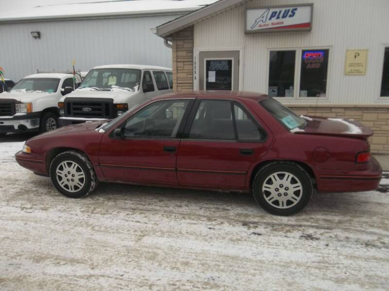 1994 Chevrolet Lumina for sale at A Plus Auto Sales/ - A Plus Auto Sales in Sioux Falls SD