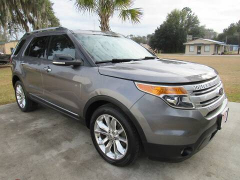 2014 Ford Explorer for sale at D & R Auto Brokers in Ridgeland SC