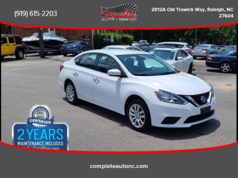 2018 Nissan Sentra for sale at Complete Auto Center , Inc in Raleigh NC