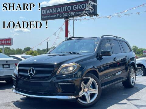 2015 Mercedes-Benz GL-Class for sale at Divan Auto Group in Feasterville Trevose PA